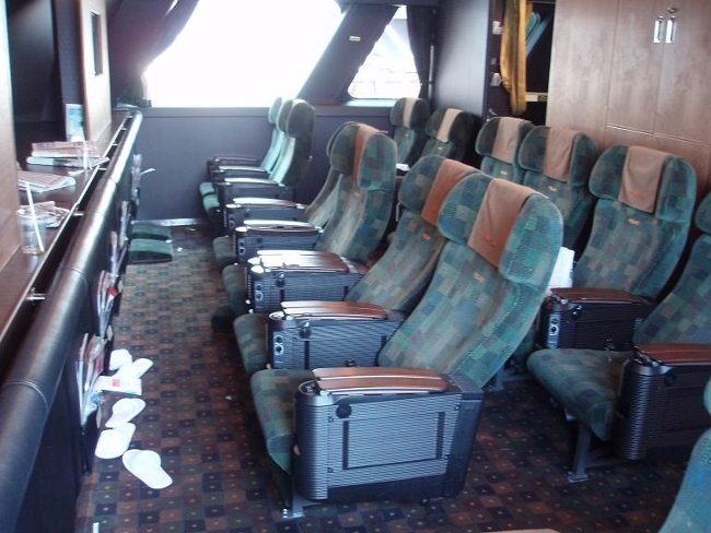 ビートルの「グリーン席」