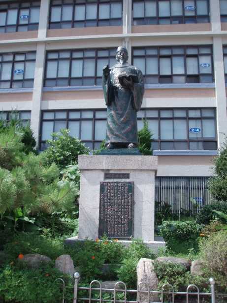 世宗(セジョン)大王の銅像