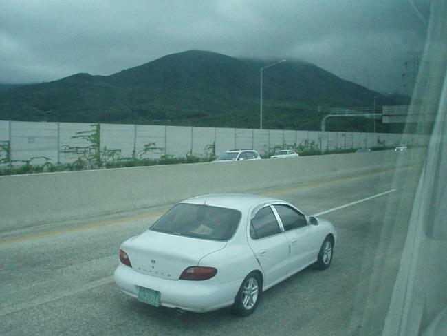右側通行の高速道路