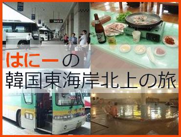 はにーの韓国東海岸北上の旅 '09夏