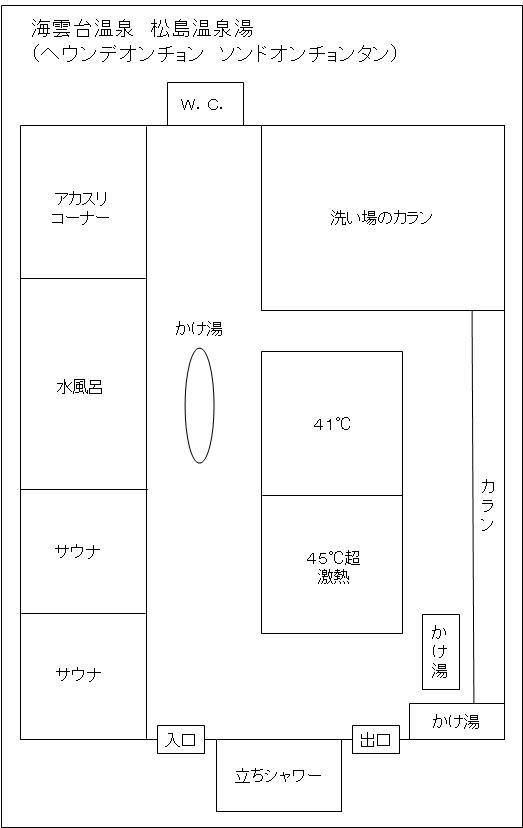 松島湯浴室配置