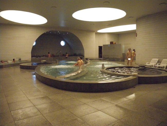 新世界スパランド浴室