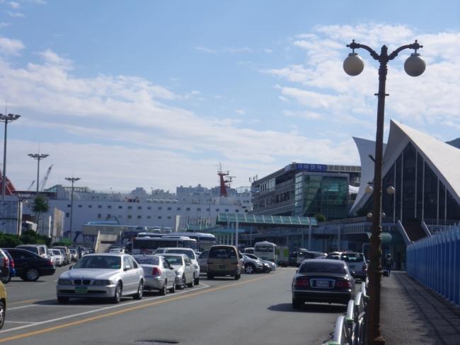 釜山港とパンスタードリーム