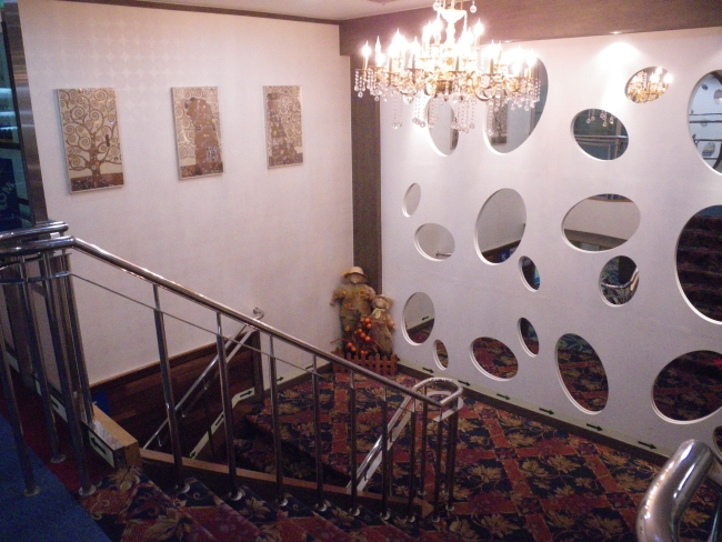 階段の踊り場