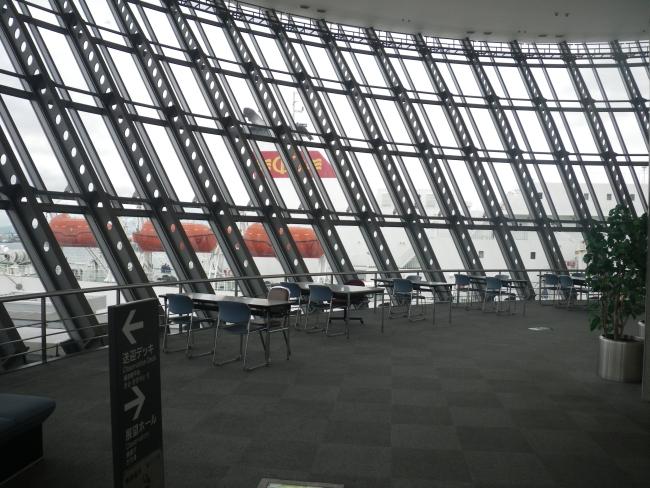 大阪港国際フェリーターミナル3F