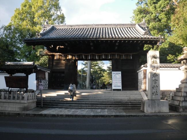 御香宮神社の正門