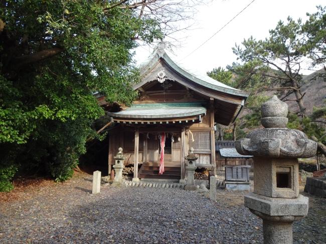 小茂田浜神社拝殿