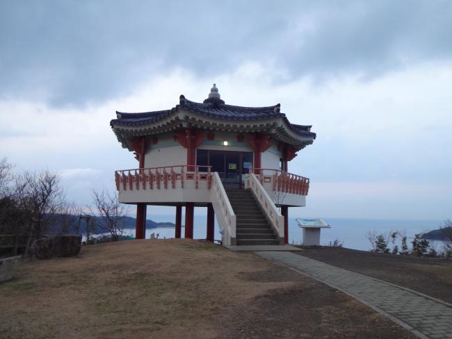 韓国展望所展望台