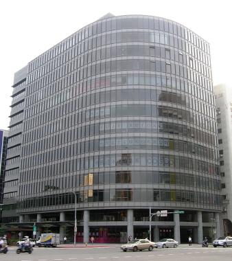 地図・COSCO台北支社