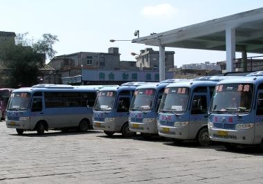 平潭汽車站-東星村の郊外バス