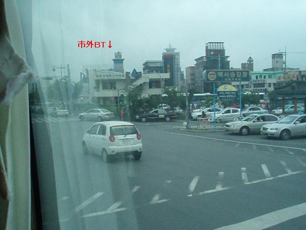 慶州市外バスターミナル