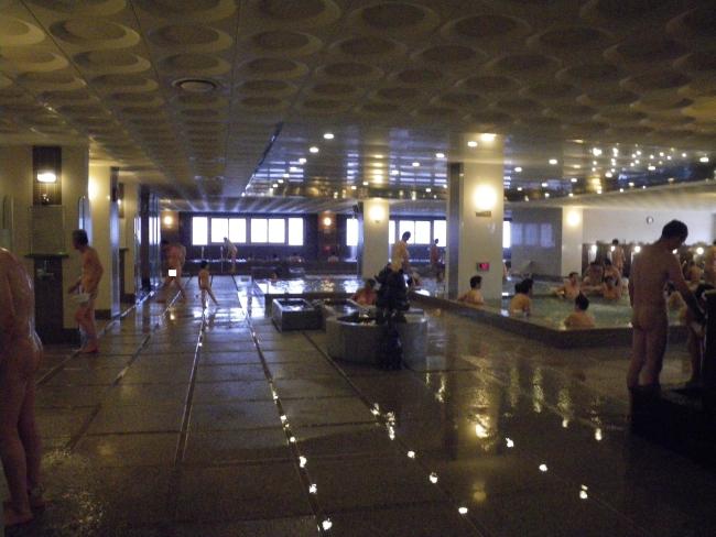 海雲台温泉センター浴室