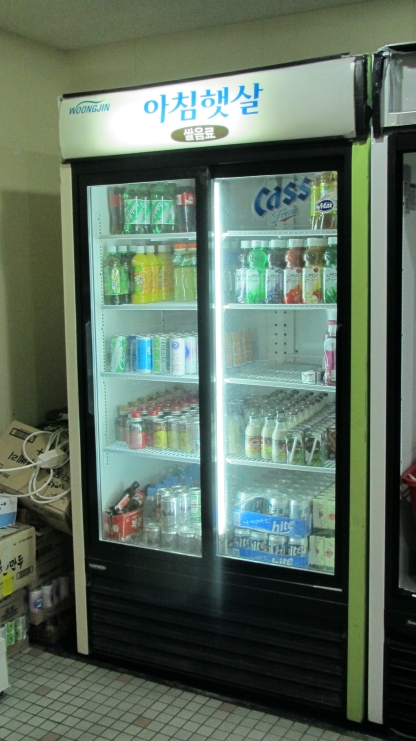 コンビニの冷蔵庫