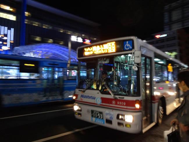 港行き路線バス