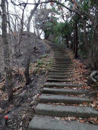 豊砲台遊歩道2
