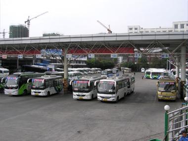 玉環バスターミナルのミニバス乗場